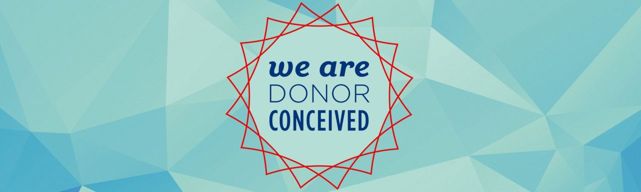 We Are Donor Conceived logo